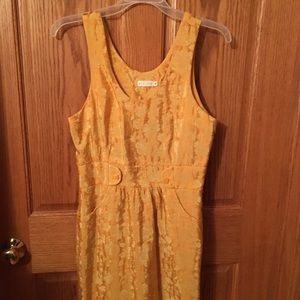 Yellow vintage style dress by Tulle